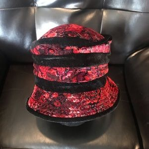 Scala collezione velvet flappers hat